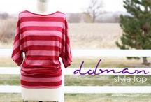 Fashion: Patterns Top Kimono / by Ella Luiting