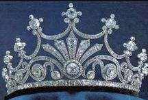 JEWELS: Crowns, Tiaras, Coronets / Beautiful crowns and tiaras.