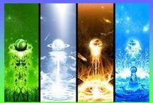 Elementos de la naturaleza / Zak&Cloe&Kiet&Fenzy&Lon&Lena