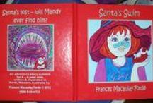 MY STUFF: Santa's Swim (Pub) CPB / About my self-published Santa Story and it's journey so far.