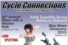 August 2015 / Our August 2015 cover bike is a 2015 Aprilia Caponord 1200 Rally, which is available at Reno's Powersports KC in Kansas City, Missouri. This month's cover model is Stephanie from Grain Valley, Missouri. Scroll down to check out this month's articles and for more details on our cover bike and model.