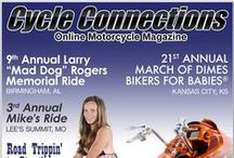 September 2015 / Our September 2015 cover bike is a 2015 Harley-Davidson Street Glide, which is owned by Doug Fifer, and this month's cover model is Sabrina from Holden, Missouri. Scroll down to check out this month's articles and for more details on our cover bike and model.