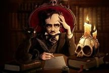 Edgar Allan Poe / Imágenes del escritor romántico más oscuro de la literatura universal