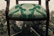 Omklädda möbler / www.ateljemobelomkladsel.se