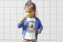 Babyface Toddler girls SUMMER 2016 lookbook / In the summer of 2016, the Babyface girls, imagine themselves in colourful, decorative India. Designs and artworks on cotton/lycra sweats and other items are based on mosaics and ornaments. In light viscose dresses, they flutter like butterflies to southern Europe, past little houses painted in bright colours and over wildflower meadows. And then like birds to the even warmer south, in skirts and T-shirts across the desert.