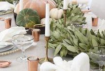 Herbstdeko - minimalistisch & schlicht
