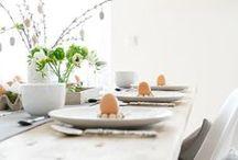 Tischdeko Ostern | Einfach & Minimalistisch
