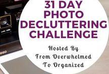 31 Day Photo Decluttering Challenge