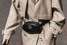Belt Bags | Trend Outfits / Die Gürteltasche ist zurück und wird durch Designer wie Gucci oder Prada zum heiß begehrten Accessoire. Auf dieser Pinnwand finden sich die coolsten Trend Outfits mit dem angesagten Accessoire.