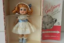 Ginny, Muffie and Betsy McCall Dolls / by Tammy Tagesen