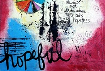 Art Journal Ideas / Inspirational pages, products & tools for art journalling
