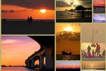 Sunsets - Clearwater Beach Florida / Clearwater Beach was Voted #1 Best Place to Watch a #sunset on USA Today Reader Poll, October 16, 2013.  The sunsets are indeed spectacular.  Make sure you pack your camera! www.ClearwaterFlorida.Org for more area information.