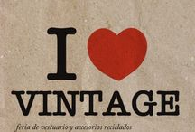 I ❤️ Vintage / by Carrie Koeppen Stock