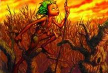 Twig Stories by Jo Marshall / Journey into climate crisis! Adventures for 8+ readers about impish, stick creatures battling climate change in their old growth forest.