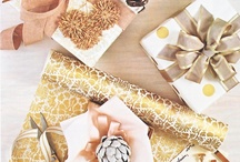 wrapping  / by Brittani Rose Paper Illustrator