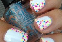 add bling to your nails / by Mia
