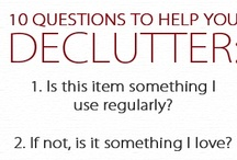 Declutter / Decluttering