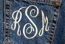 monogram / by Carley Pope