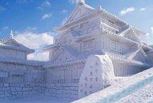 Winter Destinations / Walking in a winter wonderland.