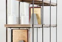 bookshelves - desk tables