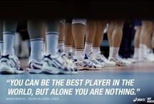 Volley Quotes / The best quotes about volleyball. Le più belle citazioni sulla pallavolo. Las mejores citas sobre voleibol.