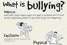 Stop Bullying / Resources on how to recognize bullying, education yourself and your child about bullying, and how to react to bulling.