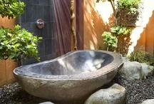 Outdoor bathroom