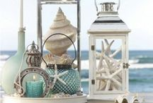 Beach Decor Ideas / We spend a lot of time decorating our vacation homes to give them that perfect, comfortable beach home feel, and we love to collect new ideas.