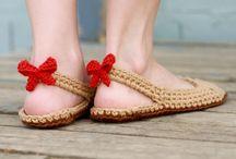 Sabates i sandalies de ganxet