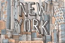 The Dream / One day I'll be living here. New York, New York.