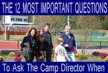 Parent Resources / Helpful tips for choosing a summer camp for your child.