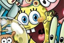 Sponge bob and Patrick / I love spongebob!
