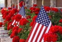 A   P a t r i o t i c   F o u r t h / Ideas for Independence Day (or Memorial Day). Polite pinning, please. 15 repins/likes per board per day limit.