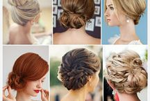 Bridal hair ideas / | Pinned for inspiration for our brides | The Bridal Room Atherstone | www.TheBridalRoomAtherstone.co.uk |  E: Info@TheBridalRoomAtherstone.co.uk | T: 01827 767 080