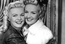 Betty Grable & June Haver / I should separate these two b(r)oads