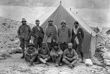Great Explorers / A collection of portraits of the pioneers of exploration