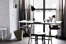 Workplaces / Inspiration for a workstation, studio and company headquarters