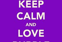 PURPLE / Fav Color!!