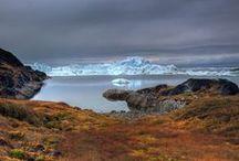 Tuɲɖɽα / Nordic/ Scandinavian- arctic tundra with ice, dirt & dust