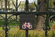 Bicycle Signs / Bicycle and cycle signs in the Netherlands, Germany and UK