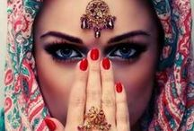IɲɖᎥα'ʂ ɖαuɠɦʈҽɽ  b o h o / Boho style in red & marsala inspired by Indian/ethnic style... ☯