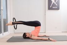 My pilates moves / STOTT PILATES intermediate repertoire