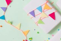 Birthday Gift Ideas / Stumped on what to get the birthday child or party host? Here's some great ideas for gifts, gift wrap and more we've found to help ease your anxiety or spark some creativity.
