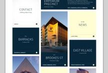 Web Design Inspiration / Web design inspiration board including a collection of great web designs created by web designers around the world