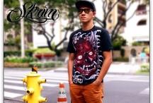 Skrim - Handpainted Shirts / Handpainted Tattoo Shirts by SKRIM