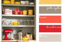 pretty color schemes / by Kathy Riley