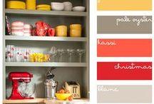pretty color schemes / by Kathy Riley