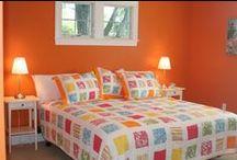 Bedroom * Orange