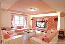 Living Room * Coral