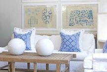 Living Room * Light Blue